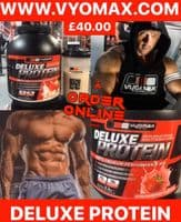 Vyomax Deluxe  protein powder   Vyomax Nutrition